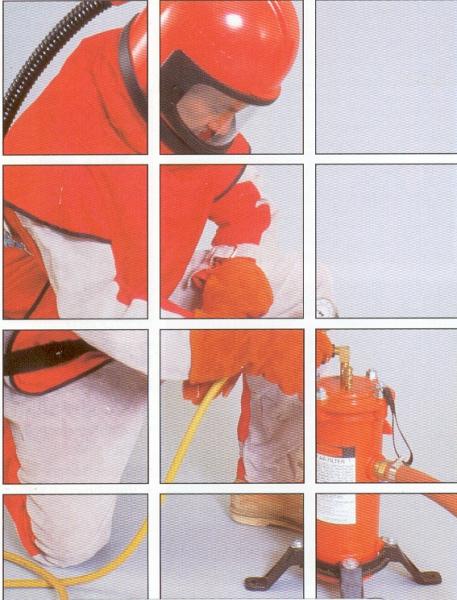 Strahlausrüstung - MGV-Moest Spritzgeräte